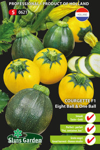 Courgette Eight & One Ball F1